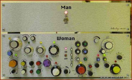 The difference between man and women
